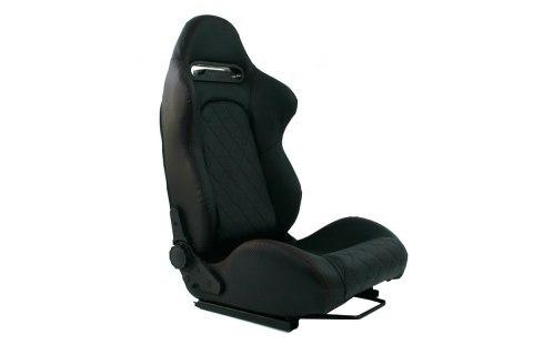 Fotel sportowy MONZA GRAND Carbon Black - GRUBYGARAGE - Sklep Tuningowy